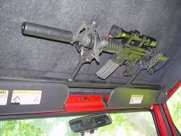 Gun Racks in Pickup Trucks