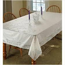 Non Slip Dining Chair Cushions Cozy Violet Linen Vinyl Lace Betenburg Design Tablecloth