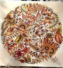 Mandala Owls Enchanted Forest De Corujas Floresta Encantada Johanna Basford Adult ColoringColoring BooksColoring