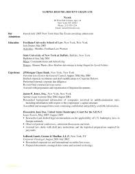 New Nurse Resume Examples Registered Sample Lovely For Position And Grad