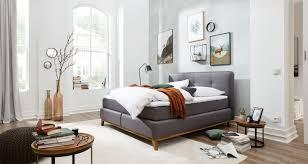 boxspringbett im skandinavischem stil bei möbel wallach in