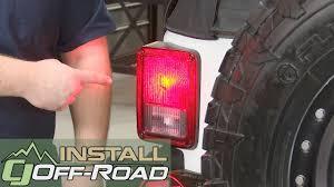 jeep wrangler jk taillight and rear turn signal bulb led pair
