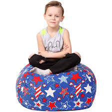 Stuffed Animal Storage Bean Bag - Large Beanbag Chairs For Kids - 90+ Plush  Toys Holder And Organizer For Boys And Girls - 100% Cotton Canvas Cover -  ... Childrens Bean Bag Chairs Site About Children Kids White Pool Soothing Company Stuffed Animal Chair For Extra Large Empty Beanbag Kid Toy Storage Covers Your Childs Animals And Flash Fniture Oversized Solid Hot Pink Babymoov Transat Dmoo Nid Natural Amazonde Baby Big Comfy Posh With Removable Cover Teens Adults Polyester Cloth Puff Sack Lounger Heritage Toddler Rabbit Fur Teal Easy With Beans Game Gamer Sofa Plush Ultra Soft Bags Memory Foam Beanless Microsuede Filled Yayme Flamingo Girls Size 41 Child Quality Fabric Cute Design 21 Example Amazon Galleryeptune Premium Canvas Stuffie Seat Only Grey Arrows 200l52 Gal Amazoncom