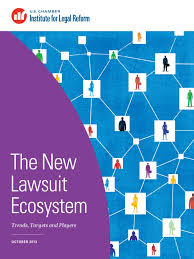 the new lawsuit ecosystem trends targets and players class