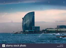 100 W Hotel Barcelona Spain Stock Photo 132658730 Alamy