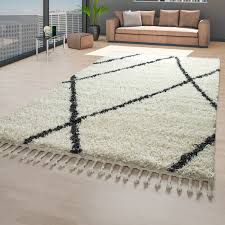 details about scandi rug beige living room pile pattern scandinavian design