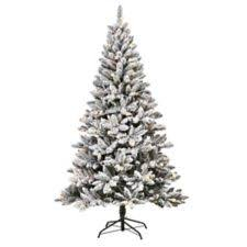 Pre Lit Flocked Christmas Tree Canada by Noma Cypress Pre Lit Christmas Tree 7 Ft Canadian Tire