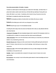 Free Online Resume Builder / CV Builder - Vcareers By ... Free Microsoft Word Resume Template Resume Free Creative Builder 17 Bootstrap Html Templates For Personal Cv For Military Online Job Topgamersxyz Epub Descgar Printable Downloads Top 10 Websites To Create Worknrby Incredible Best That Get Interviews 2019 Novorsum Build Website Beautiful 77 Pletely