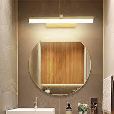 7w 3000k warmeslicht modern led spiegelleuchte 45cm bad