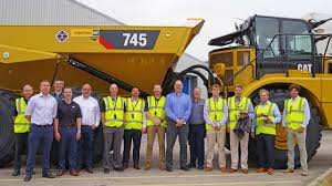 100 Global Truck Traders Caterpillar Delivers 50000th Articulated Dump
