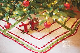 Ravelry Berries Branches Tree Skirt Pattern By Madlandia Forever