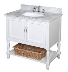 Burgundy Star Bathroom Accessories by Kitchen Bath Collection Kbc005wtcarr Beverly Bathroom Vanity With