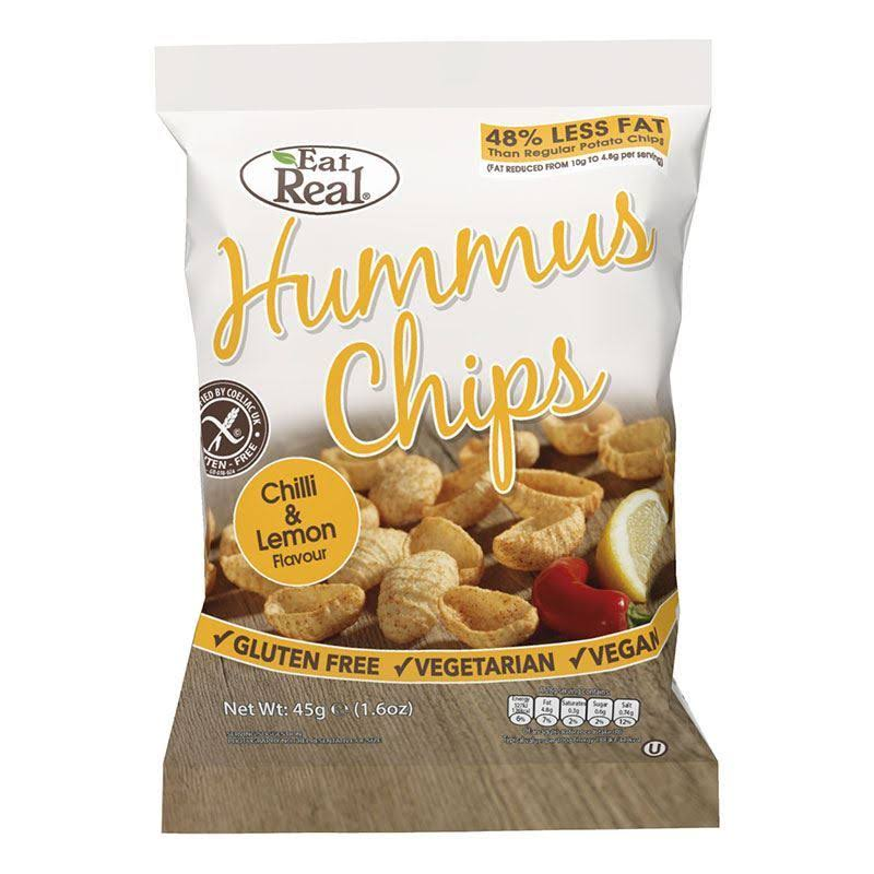 Eat Real Hummus Chips - Chilli & Lemon