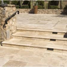 light outdoor travertine tile pavers travertine direct