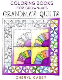 Grandmas Quilts Coloring Books For Grown Ups Adults Wingfeather