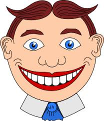 Smiling teeth clipart