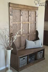 Best 25 Hall Tree Bench Ideas On Pinterest Entryway For Rustic With Storage