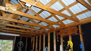 Hanging Drywall On Ceiling Tips by Insulation How To Properly Insulate A Garage Home Improvement