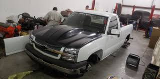 100 Cowl Hoods For Chevy Trucks 0305 CHEVY SILVERADO HOOD FeatherLite Composites