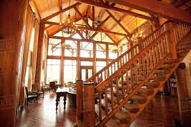 100 Wooden Ceiling Ceiling And Stairs In Luxury Living Room D145_222_092