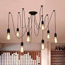 oursun kronleuchter industrie pendelleuchte vintage retro spinne le hängend deckenleuchte hängele pendelle für schlafzimmer wohnzimmer