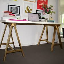 Ikea Linnmon Corner Desk Hack by My 10 Minute Ikea Desk Makeover U2013 Blonde Ambition