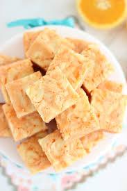 Pumpkin Swirl Cheesecake Bars by Orange Creamsicle Cheesecake Bars