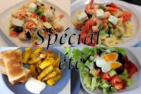 recette cuisine été spécial été recettes salades وصفات سلطة سهلة و سريعة
