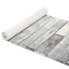 badematte badvorleger grau einfarbig 65cm antirutsch anro