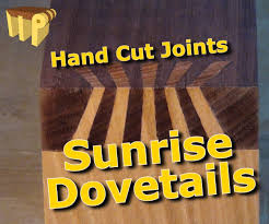 Japanese Wood Joints Pdf by How To Prepare Sunrise Dovetails Japanese Dovetails 9 Steps