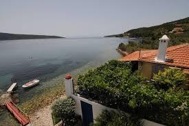 Pink House A Beachfront Holiday Villa In Kalami Corfu Greece
