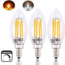 dimmable 6w led e12 candle light bulb 60w replacement candelabra