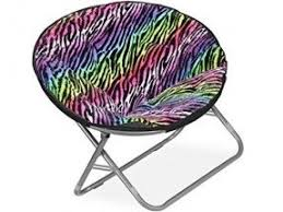 Microsuede Folding Saucer Chair by Moon Chairs Foter