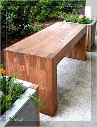 BenchDiy Simple Outdoor Bench Plans Rustic Storage Garden