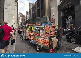 100 Nyc Food Truck Vendor In Its In New York City USA Editorial Stock Image