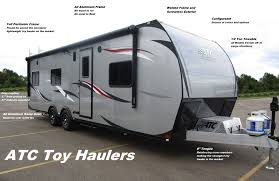 100 Custom Travel Trailers For Sale 2020 ATC ALL ALUMINUM 85x36 5TH WHEEL TOY HAULER