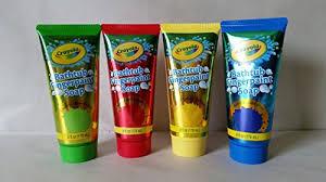 children s crayola bathtub fingerpaint soap assorted colors 6 fl