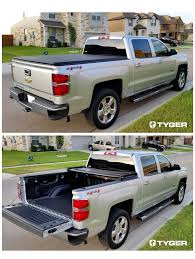 100 Track System For Truck Tyger Auto TGBC3C1006 TRIFOLD Bed Tonneau Cover 20142018