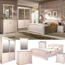 schlafzimmer komplett set selene massivholz erle weiß