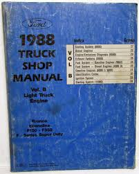 1988 Ford Truck Service Shop Manual Engine Volume B Bronco Van F150 ... 1988 Ford Ranger Pickup T38 Harrisburg 2014 88 Truck Wiring Harness Introduction To Electrical F 150 Radio Diagram Auto F150 Xlt Pickup Truck Item Ej9793 Sold April 1991 250 On F250 Diagrams 79master 2of9 Random 2 Mamma Mia Together With Alternator Basic Guide News Reviews Msrp Ratings With Amazing Images Database