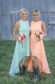2017 High Low Cheap Bridesmaid Dresses For Summer Fall Maid Of Honors Hot Sale Plus Size Lace Chiffon Simple Bridal Party Gowns