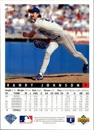 1993 Upper Deck Top Prospect Derek Jeter by 1993 Upper Deck 336 Randy Johnson Nm Mt