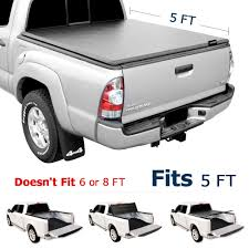 100 Toyota Truck Bed Covers Leader Accessories TriFold 5ft Soft UV Protect Tonneau