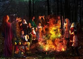 Crossroads Village Halloween by Halloween Origins Pagan