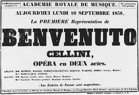 1024px Poster For 1st Performance 10 Sept 1838 Of Benvenuto Cellini By Berlioz Holoman P191 The Opening