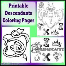 Disney Channel Original Movie Descendants Free Printables Activities And Party Supplies