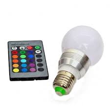 led light bulb remote and kobra retro led color changing with