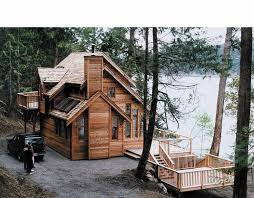 Lakeside Cabin Plans by Cool Small House Plans Architecture Plans 48016