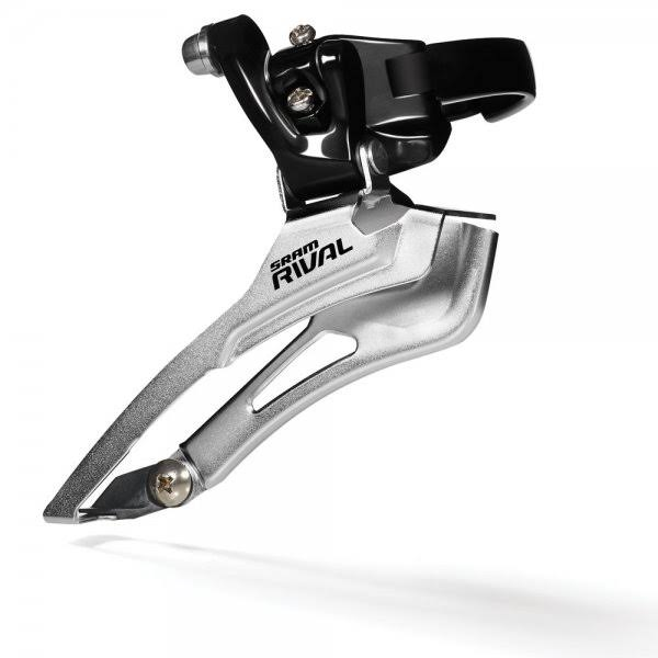 Sram Rival Road Braze-On Bicycle Front Derailleur - 2 x 10 Speed