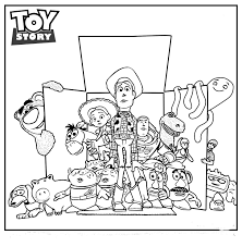 Disney Coloring Pages Toy Story At GetColoringscom Free Printable